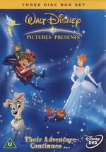 Walt Disney Pictures Presents Their Adventure Continues... Box Set UK DVD