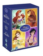 Disney Classics Volume 3 Box Set UK DVD