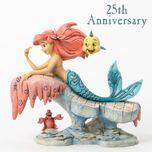 Dreaming Under The Sea-The Little Mermaid 25th Anniversary Figurine