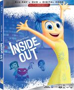 Inside Out Blu-ray 2019