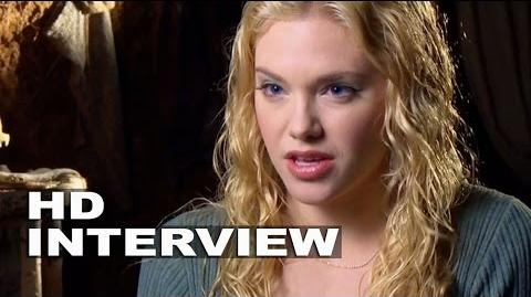 "Into the Woods Mackenzie Mauzy ""Rapunzel"" Behind the Scenes Movie Interview"