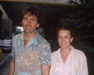 John Ritter with Nancy Morgan