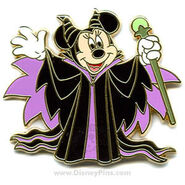 Minnie Mouse as Maleficent