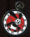 Oswald pocketwatch pin