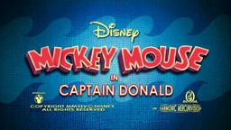 Captain Donald title card