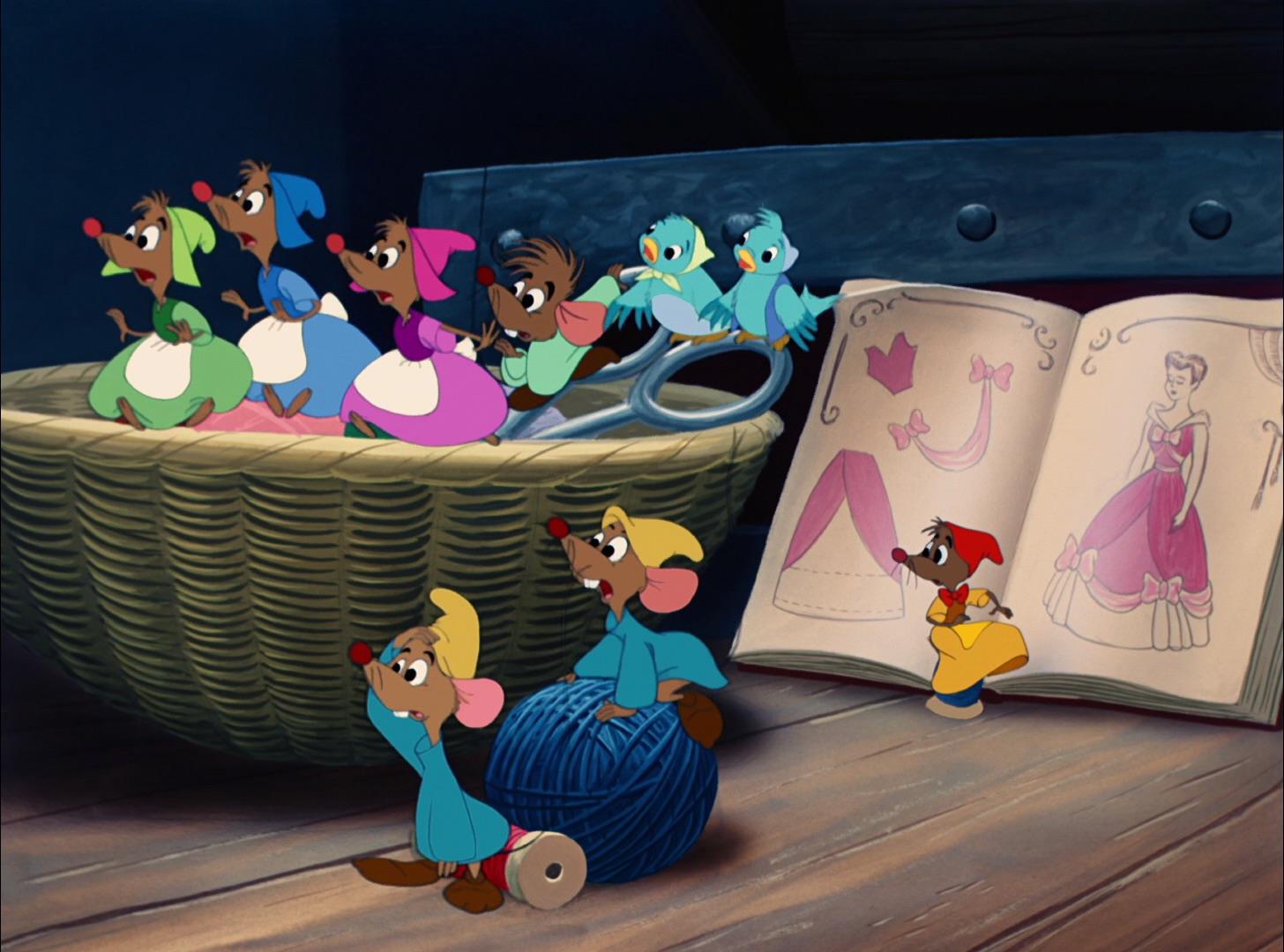 Mice Cinderella
