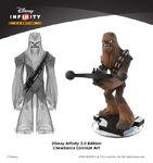 Concept Chewbacca-Disney Infinity 3.0
