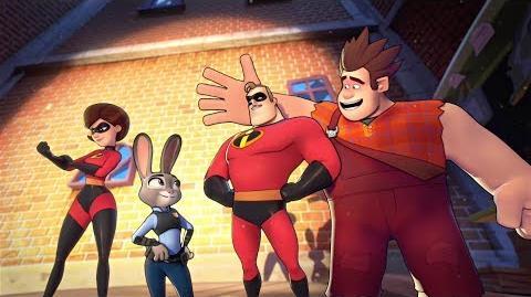 Disney Heroes Battle Mode Official Launch Trailer