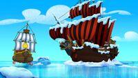 Jolly Roger&Bucky-F-F-Frozen Never Land!