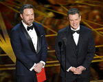 Matt Damon Ben Affleck 89th Acadamy Awards