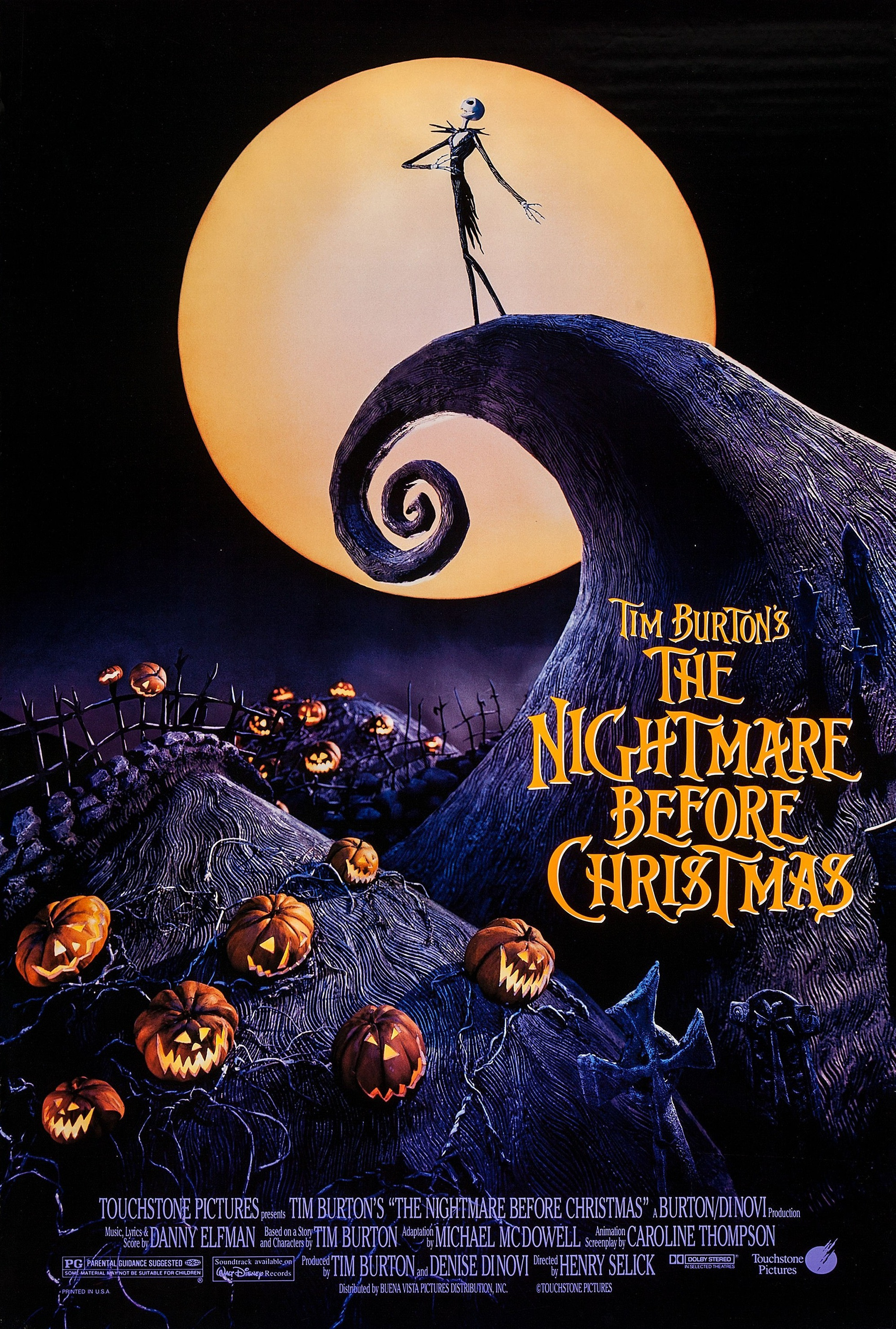 It is a picture of Challenger Nightmare Before Christmas Characters Pictures