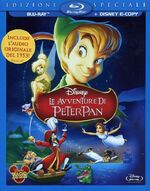 Peter Pan 2013 Italy Blu-Ray