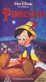 Pinocchio vhs au