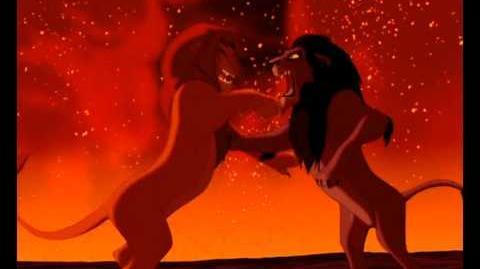 Simba Vs Scar-Lion King Fight Scene HD