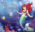 The Little Mermaid 25th Anniversary 2014 Calendar