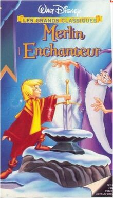 The Sword in the Stone Late 1990s France VHS
