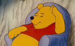 Winnie the Pooh I had a small piece of fluff in my ear