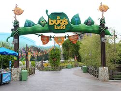 A Bug's Land at Disney California Adventure