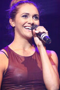 Alyson Stoner performing at Lights Camera Cure's 5th Annual Hollywood Dance Marathon