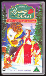 Beauty and the beast the enchanted christmas uk vhs