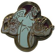 DLRP - Hunchback of Notre Dame (Victor, Hugo & Laverne) Mystery Pin
