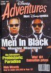Disney Adventures Magazine australian cover August 1997 Men In Black