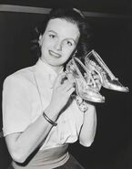 Ilene Woods with shoes