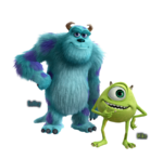 KHIII Mike and Sulley Renders