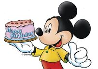 Micky maus happy birthday