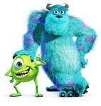 Mike and Sully Monsters Inc