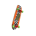 Radical Orange Skateboard