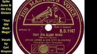 "Spike Jones & His City Slickers ""That Old Black Magic"""
