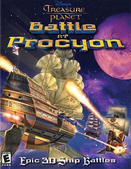 Treasure Planet - Battle at Procyon Coverart