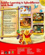 Winnie the pooh toddler back