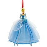 2008 Disney Store Cinderella Christmas Ornament