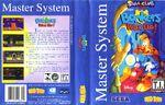 Bonkers Sega Master System Cover