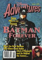 Disney adventures magazine cover june 1995 batman forever
