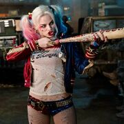 Harley Quinn with Bat