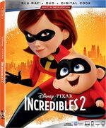 Incredibles 2 2019 Blu-ray
