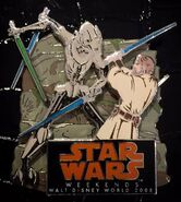 Obi Wan Vs General Grievous Pin