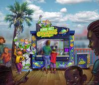 Pixar-Pier Señor Buzz