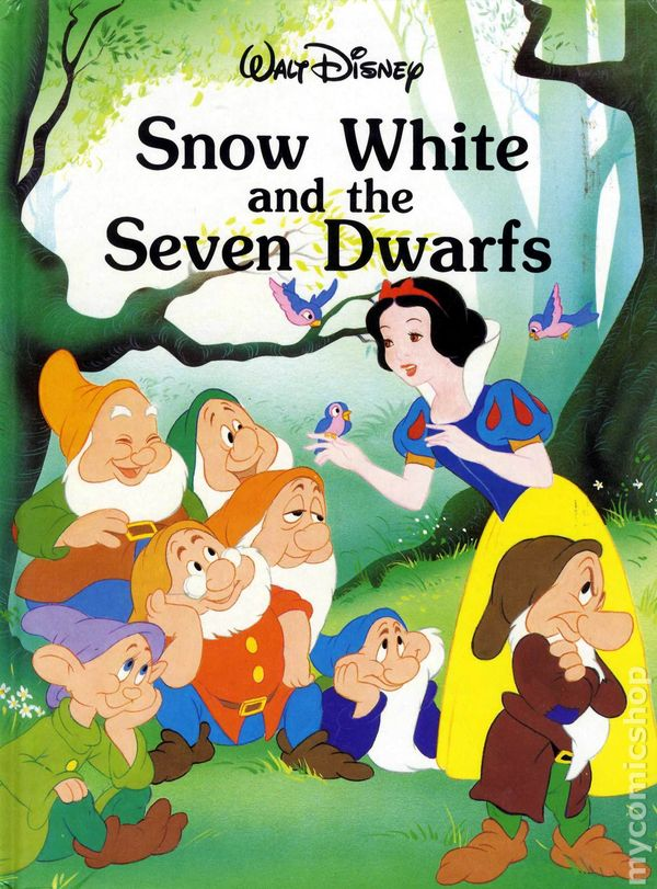 snow white and the seven dwarfs classic storybook