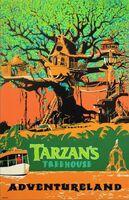Tarzan's Treehouse Poster
