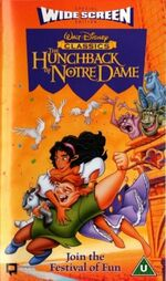 The Hunchback Of Notre Dame (1997 UK VHS) Widescreen Edition