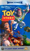 Toy Story (1996 UK Widescreen VHS)