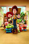 Toy Story 3 Textless Poster