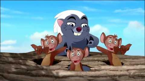 Zuka Zama Music Video The Lion Guard Return of the Roar Disney Channel