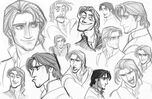 29 tangled art character design flynn 00