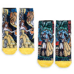 Beauty and the Beast Sock Set for Women