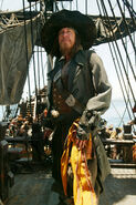 Captain Barbossa awe